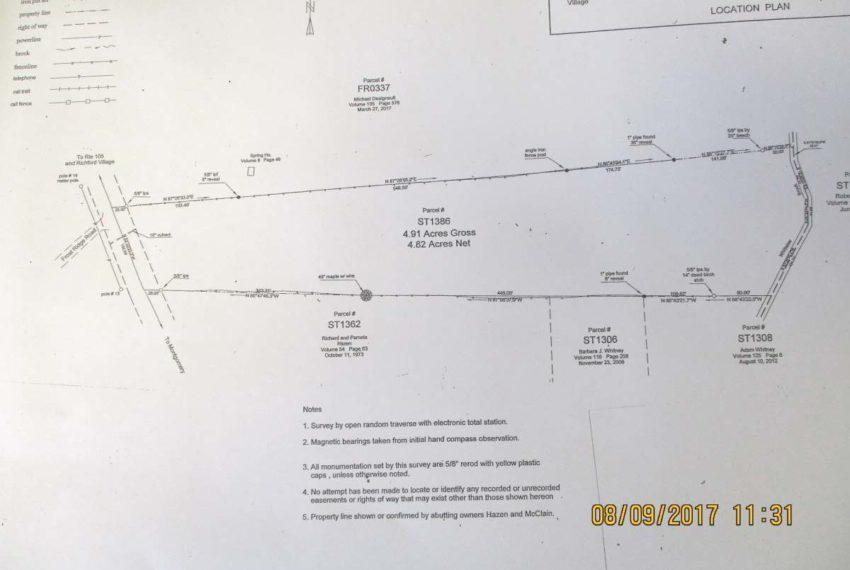 survey map