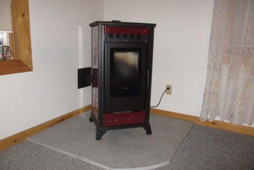Pellet stove 1