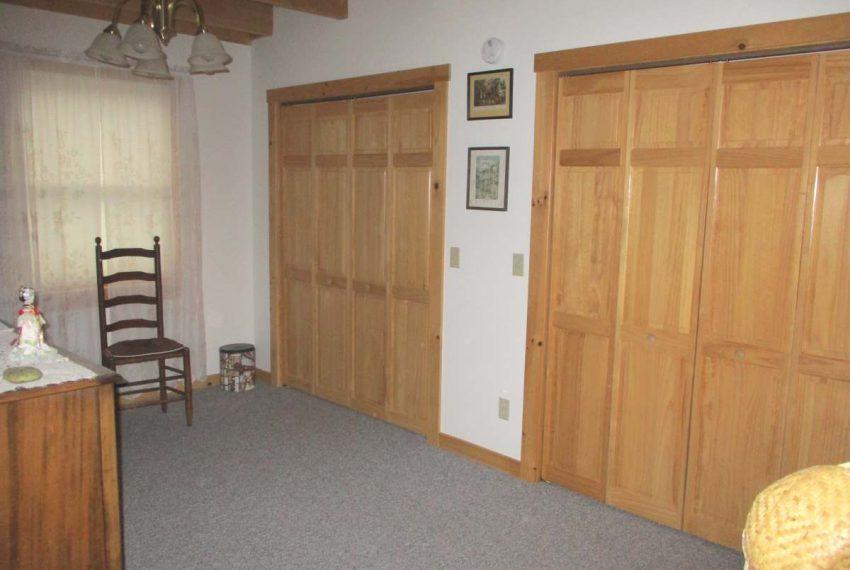 back portion of living area