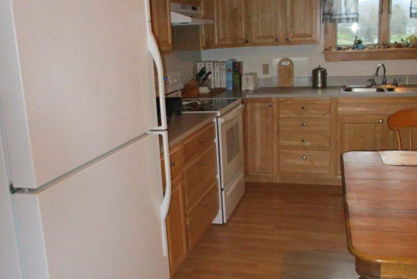 left side of kitchen