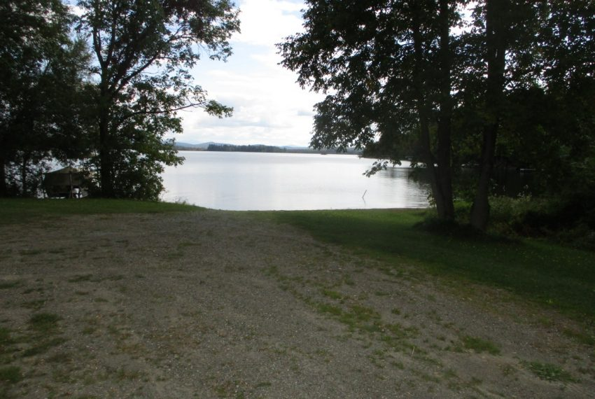boat launch area