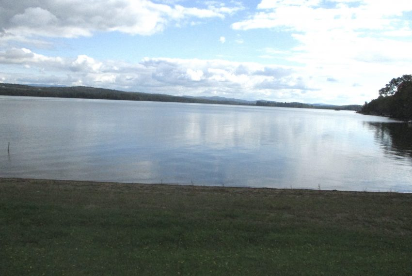 looking south on Lake Carmi