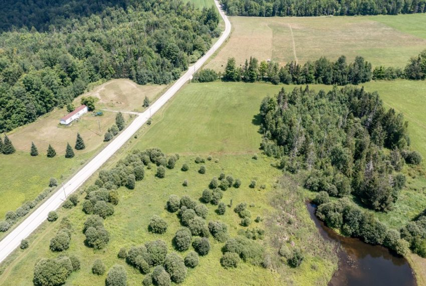 Lot 4 and pond